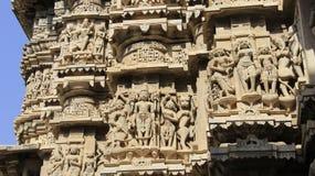 Καλές Τέχνες με παραδοσιακό και την πίστη θεά ινδή Στοκ Εικόνα