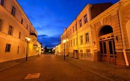 καλή νύχτα πόλεων στοκ φωτογραφίες
