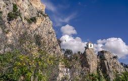 Καλή πόλη Gualalest της Ισπανίας στοκ εικόνες