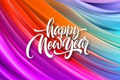 Καλή χρονιά 2020 Επιγραφή χαιρετισμού εγγραφής r στοκ εικόνες με δικαίωμα ελεύθερης χρήσης