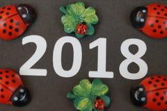 Καλή χρονιά και καλή τύχη Στοκ φωτογραφίες με δικαίωμα ελεύθερης χρήσης