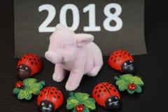 Καλή χρονιά και καλή τύχη Στοκ Φωτογραφία