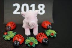 Καλή χρονιά και καλή τύχη Στοκ Εικόνες