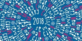 καλή χρονιά χαιρετισμός Χριστουγέννων καρτών Υπόβαθρο διάνυσμα Στοκ φωτογραφίες με δικαίωμα ελεύθερης χρήσης