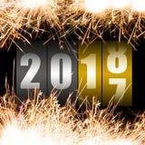 Καλή χρονιά 2018 Στοκ εικόνα με δικαίωμα ελεύθερης χρήσης