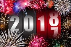 Καλή χρονιά 2018 διανυσματική απεικόνιση