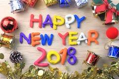 Καλή χρονιά 2018 στοκ φωτογραφία με δικαίωμα ελεύθερης χρήσης