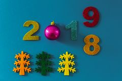 Καλή χρονιά 2019 στοκ φωτογραφίες με δικαίωμα ελεύθερης χρήσης