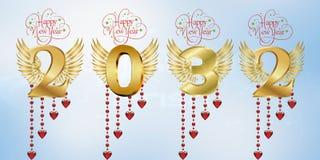 Καλή χρονιά 2032 στοκ εικόνες με δικαίωμα ελεύθερης χρήσης