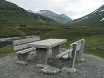 καλή picnic θέση Στοκ Φωτογραφία