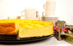 καλαμπόκι κέικ Στοκ Φωτογραφίες