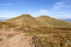 Καλαμπόκι du και Σύνοδοι Κορυφής ανεμιστήρων μανδρών Υ, αναγνωριστικό σήμα Brecon στοκ εικόνες