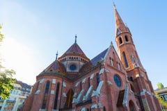 Καλβινιστής εκκλησία Βουδαπέστη Ουγγαρία Στοκ Εικόνες