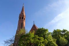 Καλβινιστής εκκλησία Βουδαπέστη Ουγγαρία Στοκ εικόνες με δικαίωμα ελεύθερης χρήσης