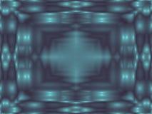 Καλειδοσκόπιο γυαλιού στη θαμπάδα ελεύθερη απεικόνιση δικαιώματος