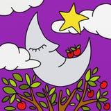 καληνύχτα Στοκ εικόνα με δικαίωμα ελεύθερης χρήσης