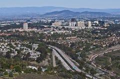 Καλιφόρνια Diego SAN προαστιακό&sigm στοκ φωτογραφίες
