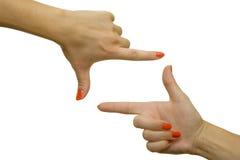 καλλιέργεια των δάχτυλ&omega Στοκ εικόνες με δικαίωμα ελεύθερης χρήσης