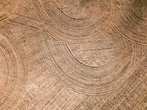 Καλλιεργήσιμο έδαφος άνοιξη Τομέας και όμορφα σχέδια από το τρακτέρ επάνω από την όψη ν Στοκ εικόνες με δικαίωμα ελεύθερης χρήσης
