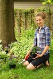 καλλιεργώντας έφηβος Στοκ εικόνα με δικαίωμα ελεύθερης χρήσης