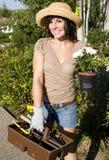 καλλιεργώντας γυναίκα Στοκ Εικόνα