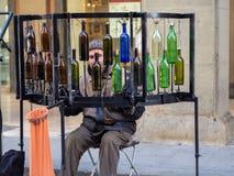Καλλιτέχνες στις οδούς της Φλωρεντίας, Ιταλία στοκ εικόνες