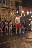 Καλλιτέχνης πυρκαγιάς στο φεστιβάλ Esala Perahera σε Kandy Στοκ φωτογραφίες με δικαίωμα ελεύθερης χρήσης