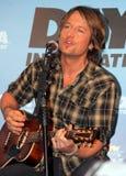 Καλλιτέχνης Keith Urban country μουσικής στοκ φωτογραφίες με δικαίωμα ελεύθερης χρήσης