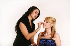 καλλιτέχνης makeup Στοκ Φωτογραφίες