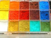 καλλιτεχνικά χρώματα Στοκ Εικόνα