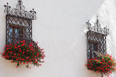 καλλιτεχνικά Windows Στοκ φωτογραφία με δικαίωμα ελεύθερης χρήσης