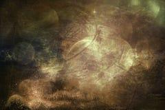 Καλλιτεχνική αφηρημένη σκοτεινή ομιχλώδης εκλεκτής ποιότητας ονειροπόλος σύσταση ως υπόβαθρο απεικόνιση αποθεμάτων