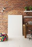 Καλλιτεχνικός εξοπλισμός σε ένα στούντιο καλλιτεχνών διανυσματική απεικόνιση