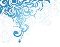 καλλιτεχνικός παφλασμό&sigm Στοκ εικόνες με δικαίωμα ελεύθερης χρήσης