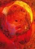 καλλιτεχνικό έμβρυο Στοκ φωτογραφία με δικαίωμα ελεύθερης χρήσης