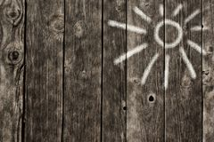 καλλιτεχνικό διάνυσμα συμβόλων ήλιων απεικόνισης Στοκ Φωτογραφία