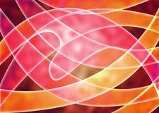 Καλλιτεχνικό υπόβαθρο σχεδιαστών Оrange, κίτρινα κόκκινα χρώματα аnd τρισδιάστατη αφηρημένη φαντασία διανυσματική απεικόνιση