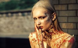 Καλλυντικά, ομορφιά, makeup στοκ φωτογραφίες με δικαίωμα ελεύθερης χρήσης