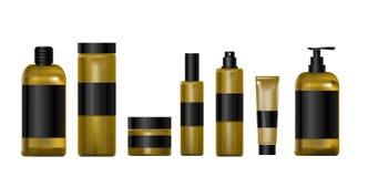 Καλλυντικά προϊόντα για ιατρικό υγιή Στοκ Εικόνες