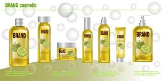Καλλυντικά προϊόντα για το άρωμα οργανικό Στοκ Εικόνες
