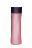 καλλυντικό ροζ μπουκαλιών Στοκ εικόνα με δικαίωμα ελεύθερης χρήσης