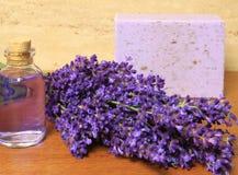 καλλυντικό lavender Στοκ φωτογραφία με δικαίωμα ελεύθερης χρήσης