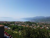 Καλοκαίρι άποψης της Κροατίας Rijeka στοκ εικόνες