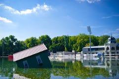 καλοκαίρι αιθουσών παγ&om Στοκ Εικόνες