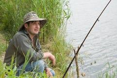 καλοκαίρι αλιείας Στοκ Εικόνες