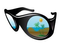 καλοκαίρι γυαλιών ελεύθερη απεικόνιση δικαιώματος
