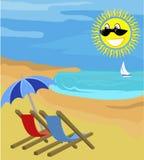 καλοκαίρι διακοπών Στοκ εικόνα με δικαίωμα ελεύθερης χρήσης