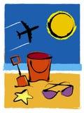 καλοκαίρι διακοπών Ελεύθερη απεικόνιση δικαιώματος