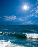 καλοκαίρι θάλασσας τοπί στοκ φωτογραφίες με δικαίωμα ελεύθερης χρήσης