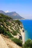 καλοκαίρι θάλασσας τοπί στοκ φωτογραφία με δικαίωμα ελεύθερης χρήσης